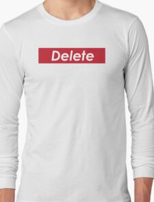 Delete Long Sleeve T-Shirt