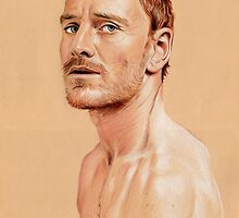 Michael Fassbender by Cécile Pellerin