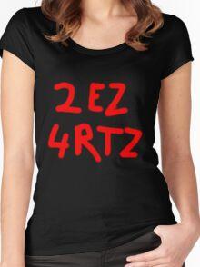 2 EZ 4 RTZ Women's Fitted Scoop T-Shirt