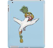 Pineapple eat seagull world. iPad Case/Skin