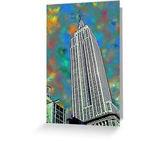 The Empire State Bulding, NYC Greeting Card