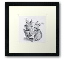 Lion Mayweather Framed Print