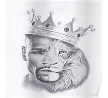 Lion Mayweather Poster