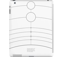 Space/Scale lines iPad Case/Skin