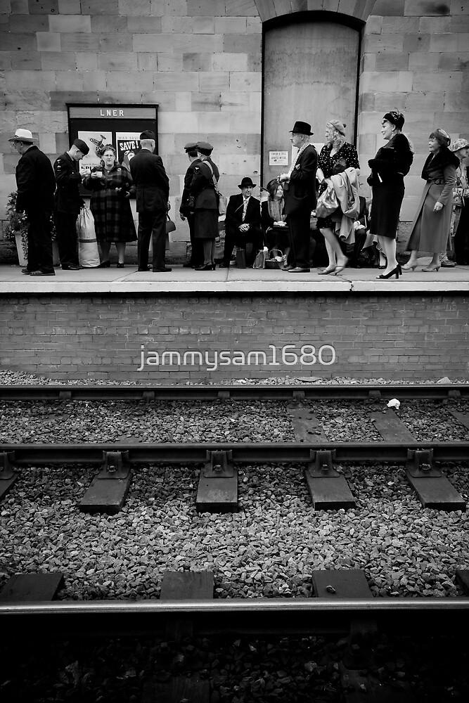 Wartime Train Platform by jammysam1680