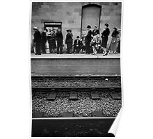 Wartime Train Platform Poster