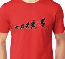 ski jump skiing darwin evolution Unisex T-Shirt