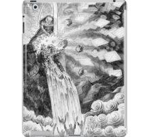 Smite the rock. iPad Case/Skin