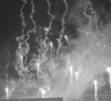 WWA Philly 8/13 Fireworks B&W Sticker