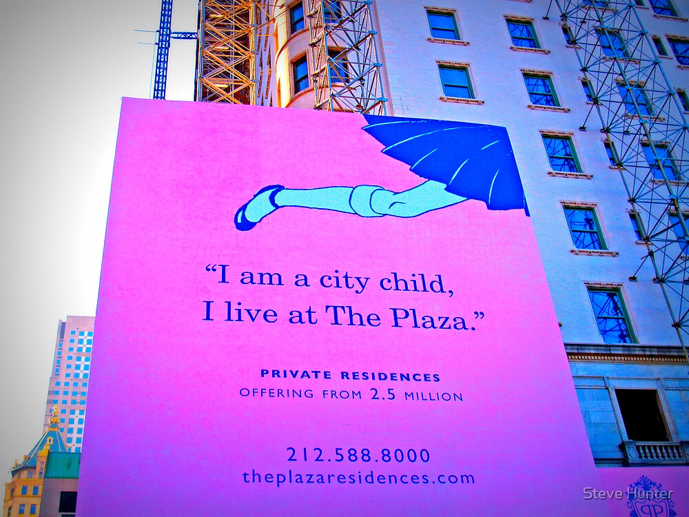 See you at the Plaza by Steve Hunter