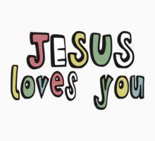 JESUS LOVES YOU Kids Clothes