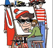 Where's Waldo deal with it by ross-Gardiner