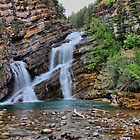 Cameron Falls by Vickie Emms