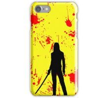 A dish best served cold iPhone Case/Skin