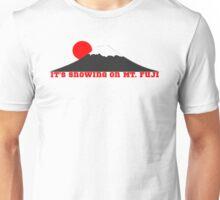 It's Snowing On Mt. Fuji Unisex T-Shirt