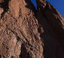 Rock Texture, Tower of Babel, Garden of the Gods, Colorado Springs, CO 2009 by J.D. Grubb