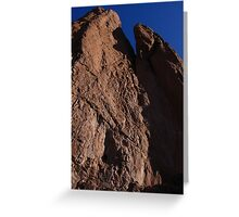 Rock Texture, Tower of Babel, Garden of the Gods, Colorado Springs, CO 2009 Greeting Card