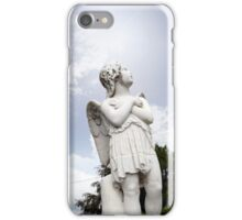 angel statue in a kilkenny graveyard iPhone Case/Skin