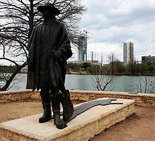 Stevie Ray Vaughn by Shinrai