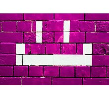 Bricks & Smiles Photographic Print
