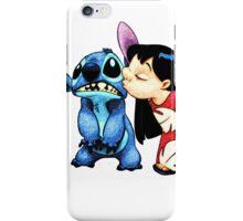 Lilo & Stitch Kiss iPhone Case/Skin