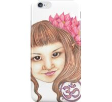 Lotus Faerie iPhone Case/Skin
