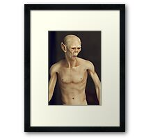 Portrait of a Creature Framed Print
