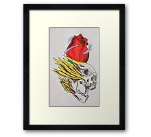 tattoo designs on items rather than skin Framed Print