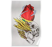 tattoo designs on items rather than skin Poster