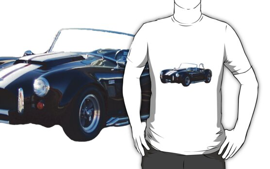 1965 Shelby Cobra Tee by Glenna Walker
