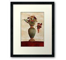 The Sweet Scent of Carnations Framed Print
