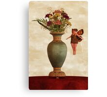 The Sweet Scent of Carnations Canvas Print