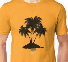 Small island silhouette Unisex T-Shirt