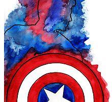 Captain America by cambrilis