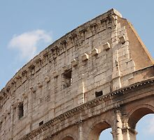 Colosseum in Springtime: Ancient Rome, Italy by shoelock