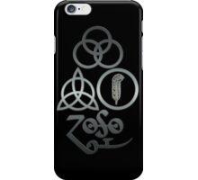 TRIQUETRA - brushed metal L iPhone Case/Skin