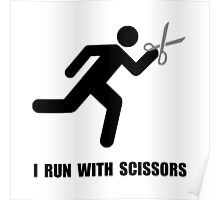 Run With Scissors Poster