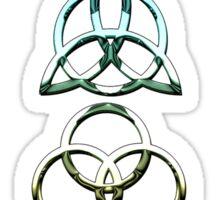 TRIQUETRA - california chrome V Sticker