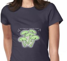 Let it glow! Womens Fitted T-Shirt