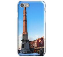 The Monument at Sunset iPhone Case/Skin