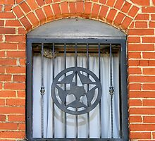 Texas Star Window by Catherine Sherman