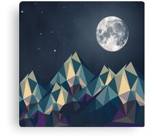 Night Mountains No. 1 Canvas Print