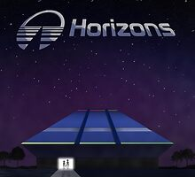Horizons Building from EPCOT Center by EPCOTJosh