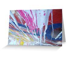 Abstract Graffiti Greeting Card