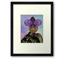 Audrey As a Baby Framed Print
