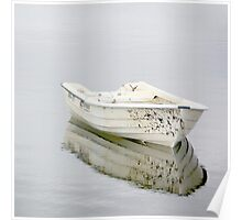 Lonely boat Poster