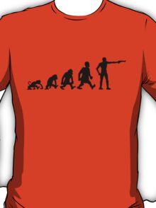 shooting Sports evolution darwin gun pistol T-Shirt