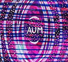 Aum & Stars: Inner Power Painting by mellierosetest
