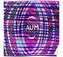 Aum & Stars: Inner Power Painting Poster