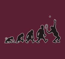 tennis sport darwin evolution by huggymauve